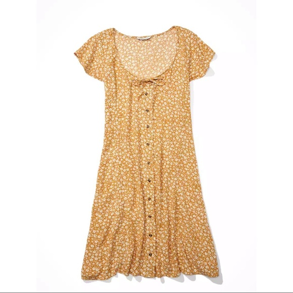 🌼 AE Button Up Mini Dress 🌼